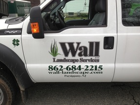Wall Landscaping Pickup Truck